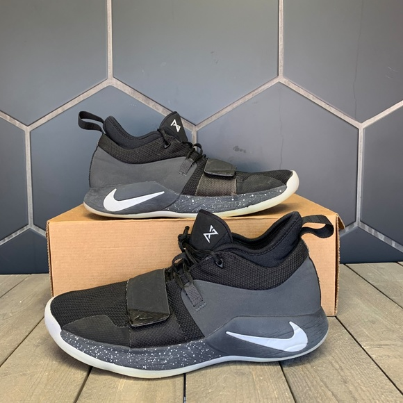 check out d5b29 efe2a Nike PG 2.5 Black Anthracite Basketball Shoes 9.5